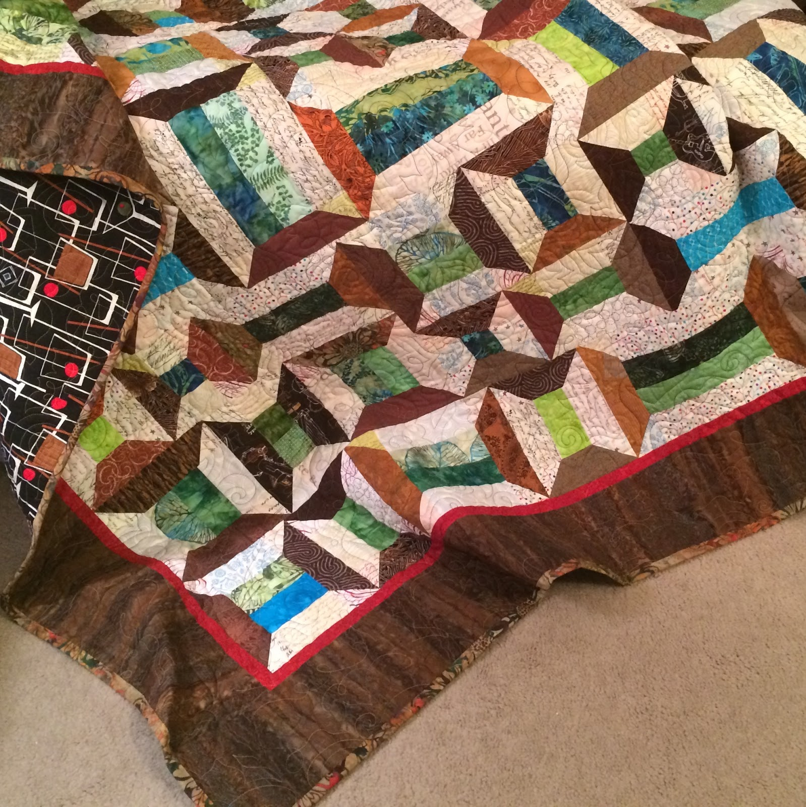 Spools doll quilt table runner wall hanging lyn brown s quilting - When I Visited My Son And Then Girlfriend In 2013 They Had Just Bought A Beautiful Sage Green Loveseat But Then They Adopted Two Cats A Gray Tabby Cat