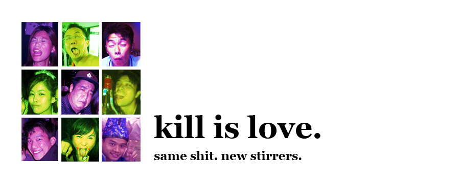Kill is Love. Again.