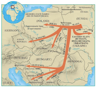Slavic Migrations