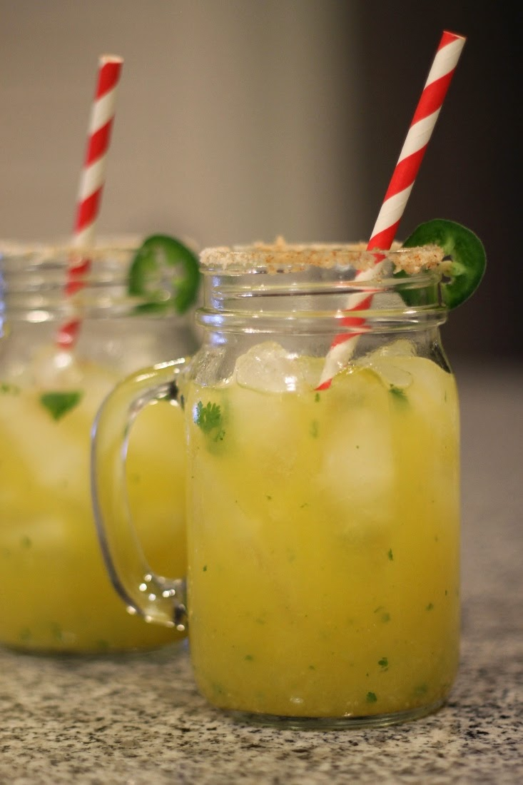 Spicy Jalapeno Margarita Cocktail Drink