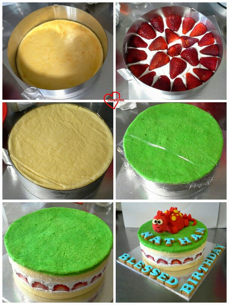 how to tell if a chiffon cake is done