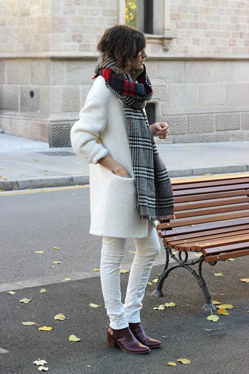 tendencias pantalones blancos invierno