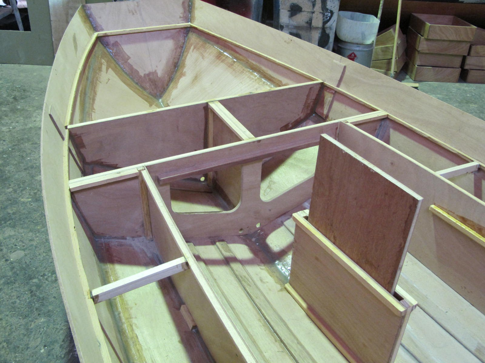Ckd boats roy mc bride mirror dinghy whats under the for Mirror yacht