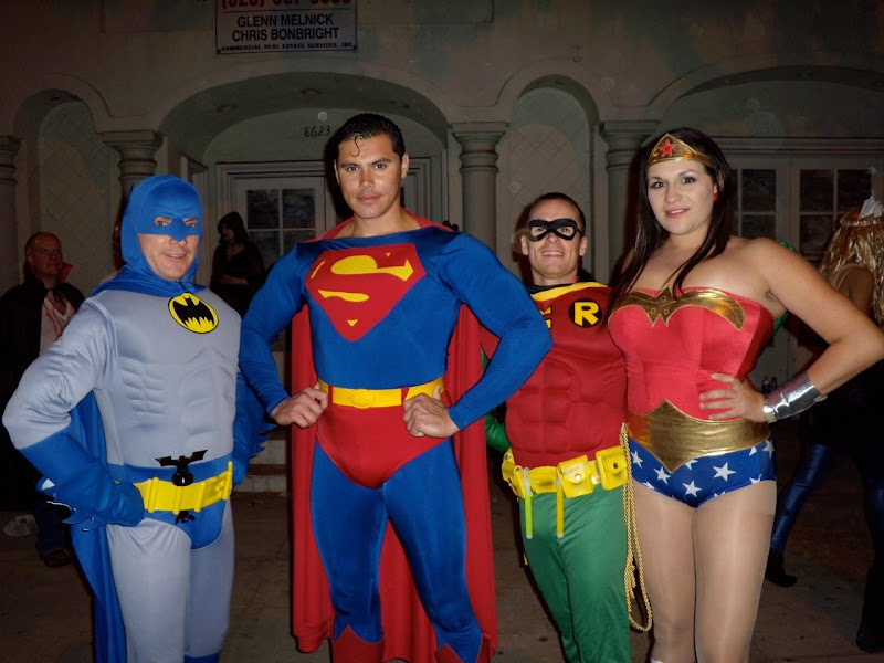 West Hollywood Halloween JLA heroes 09