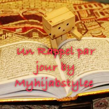 Un Rappel par jour by My Hijab Stylee