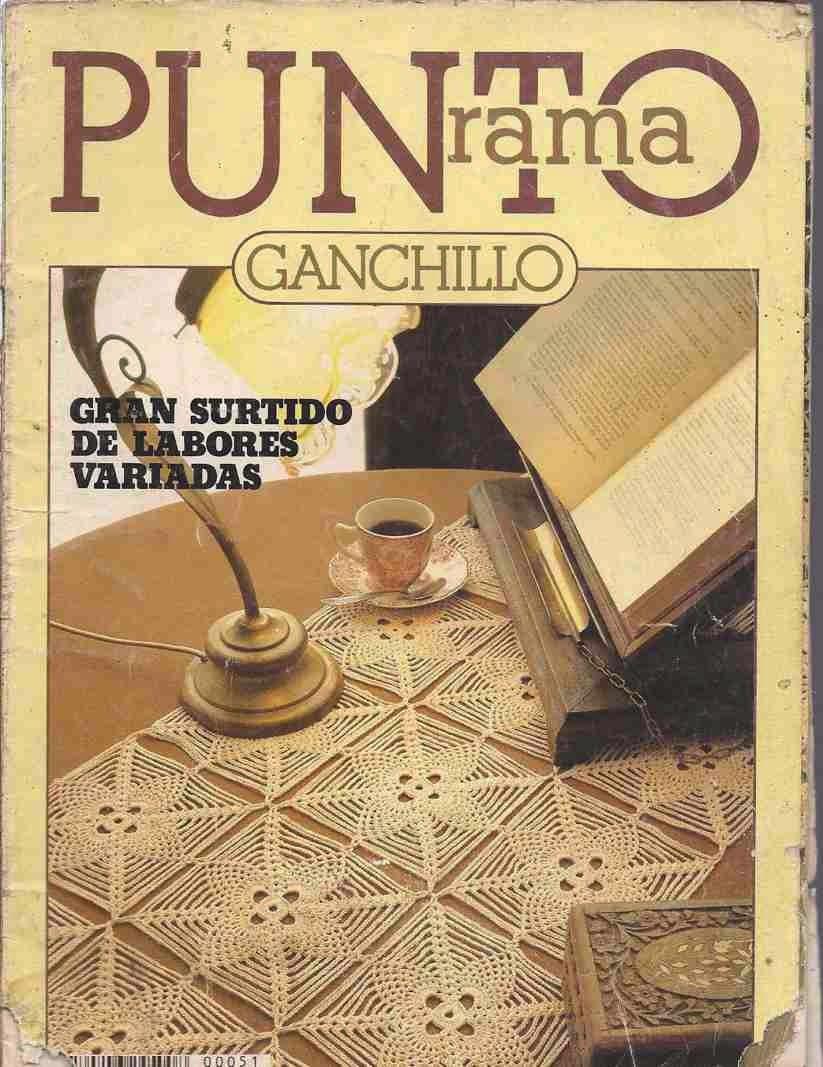 007 Punto Rama Ganchillo - Gran Surtido de Labores Variadas