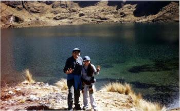 Roberto y Kandy hablando del Qapacñan