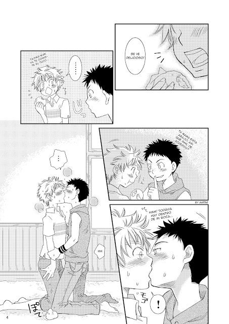 Ookiku Furikabutte, Blue Drop (Guri), Yaoi, Tennen Shikou 1,
