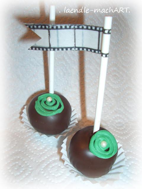 Geburtstag, Cakepops, Eierlikör, Schokolade