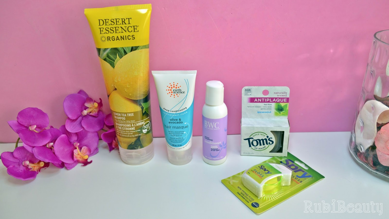 iherb haul review impresiones opinion compras desert essence earth science BWC