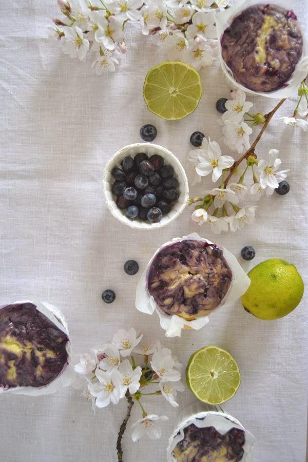 recette muffin myrtilles sans gluten