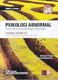 toko buku rahma: buku PSIKOLOGI ABNORMAL EDISI 6 BUKU 2, pengarang richard p. halgin, penerbit salemba humanika