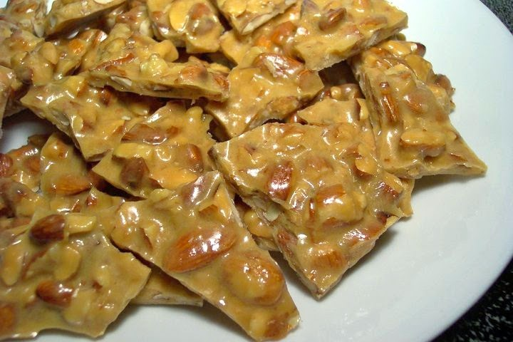 Microwave Almond Brittle