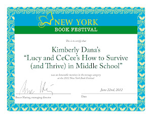 Lucy and CeCee Awarded by New York Festival of Books