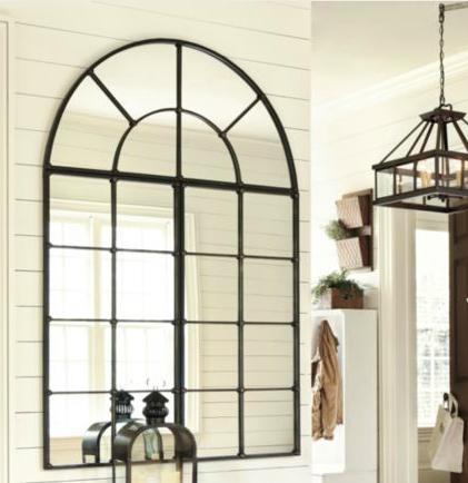T h e v i s u a l v a m p arched window mirrors for Window design mirror