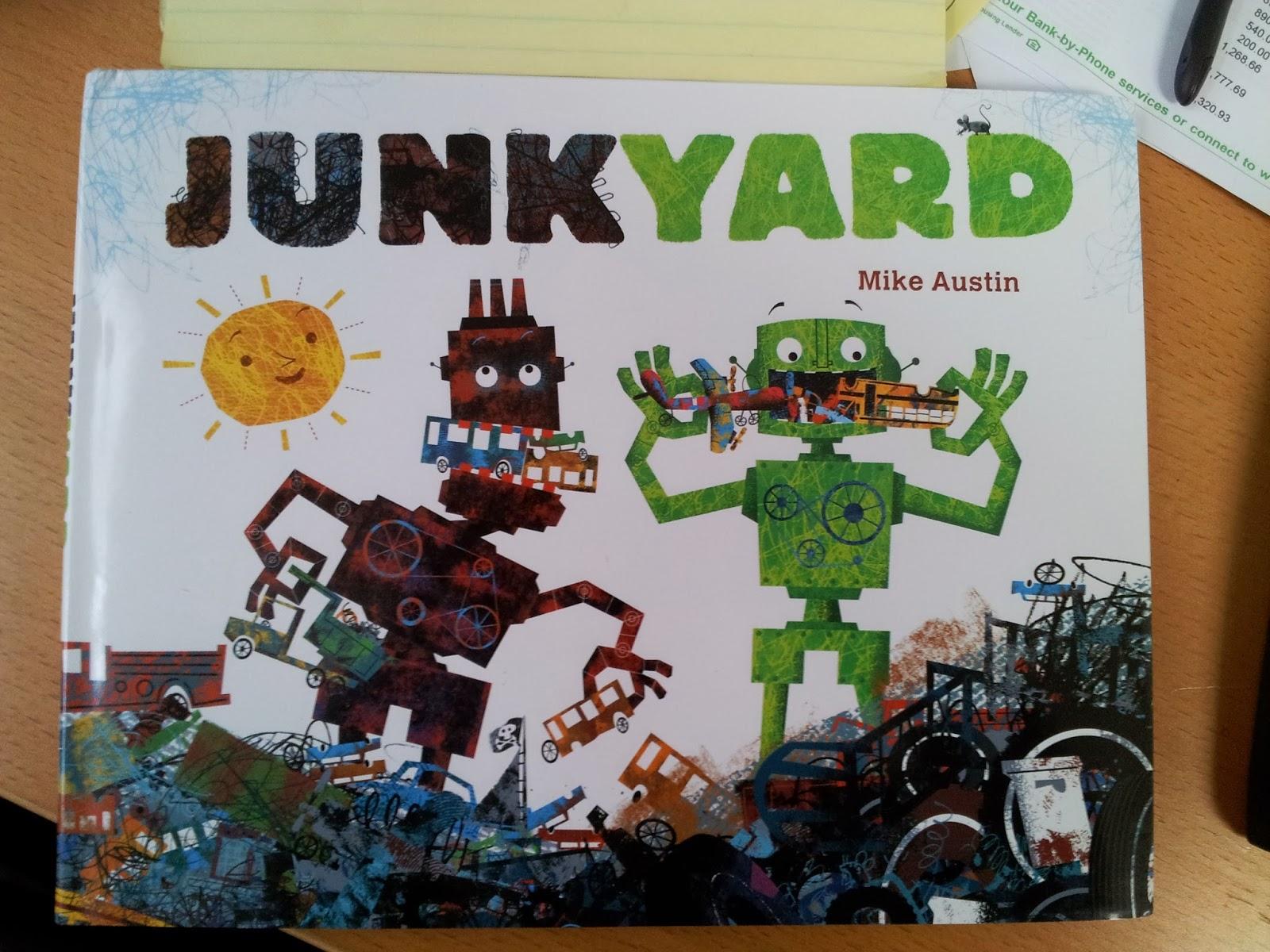 The Jade Sphinx Junkyard by Mike Austin