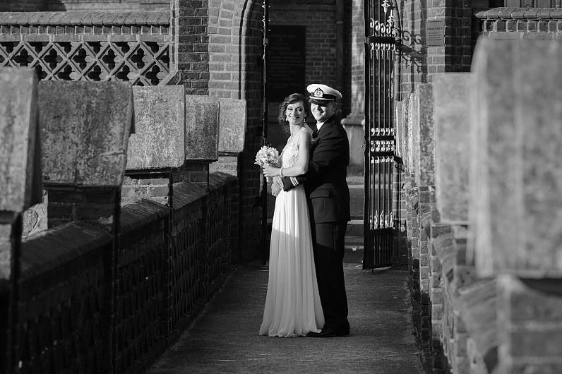 nespalvota vestuvinė fotografija