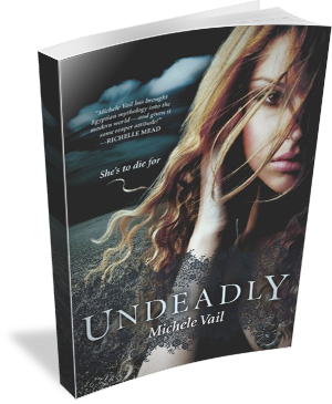 Book Cover Undeadly by Michele Vail