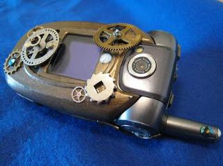 ponsel flip unik