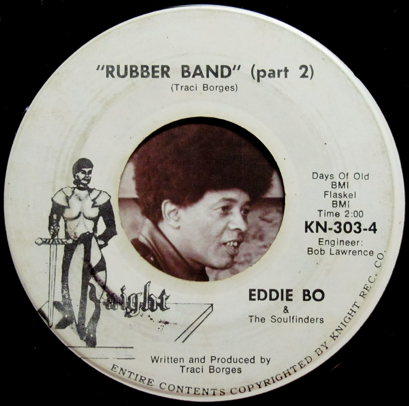 Eddie Bo The Soulfinders The Rubber Band