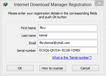 internet download manager registration serial number gratis