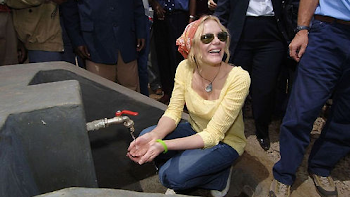 Daryl Hannah, World Water Day 2006