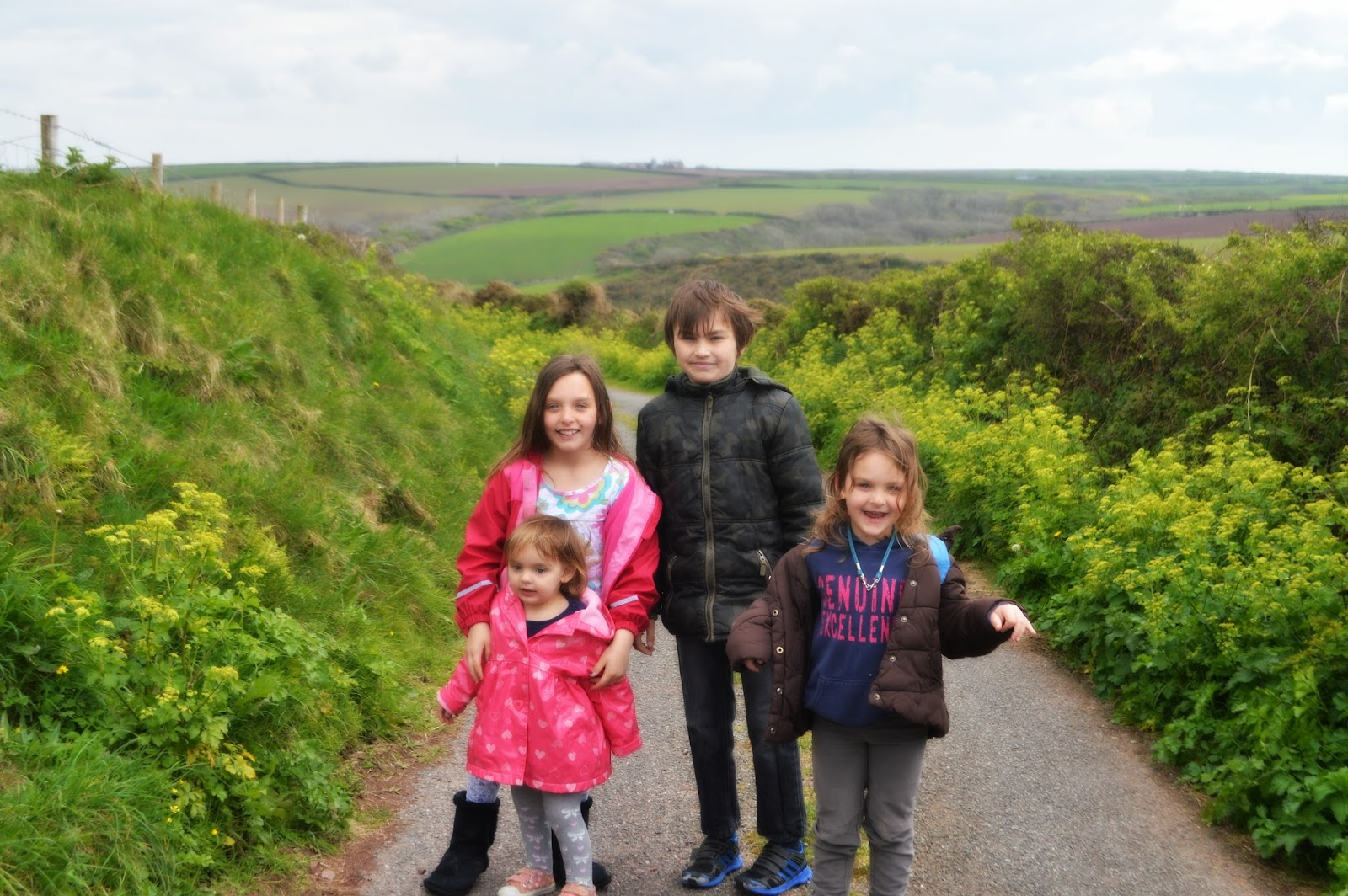 Siblings April Linky Family Photography Portrait West Dale Pembrokeshire