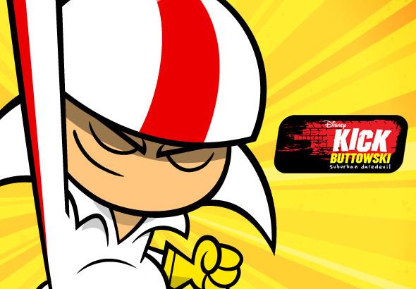 Kick Buttowski Medio Doble De Riesgo Juegos  Videos  Capitulos  Fondos