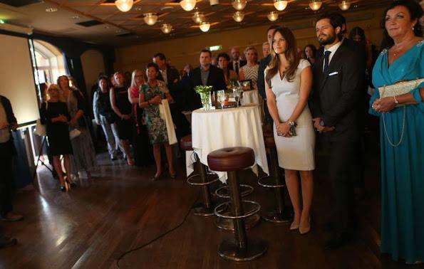 Prince Carl Philip And Princess Sofia At A Charity Gala Dinner