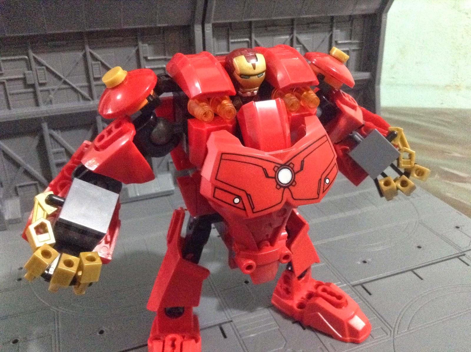 The pinoy geek lab custom lego hulkbuster iron man