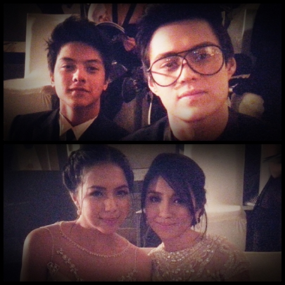 JuQuen and KathNiel - Daniel Padilla and Enrique Gil; Kathryn Bernardo and Julia Montes