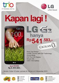 LG G2 Cashback Rp 300.000