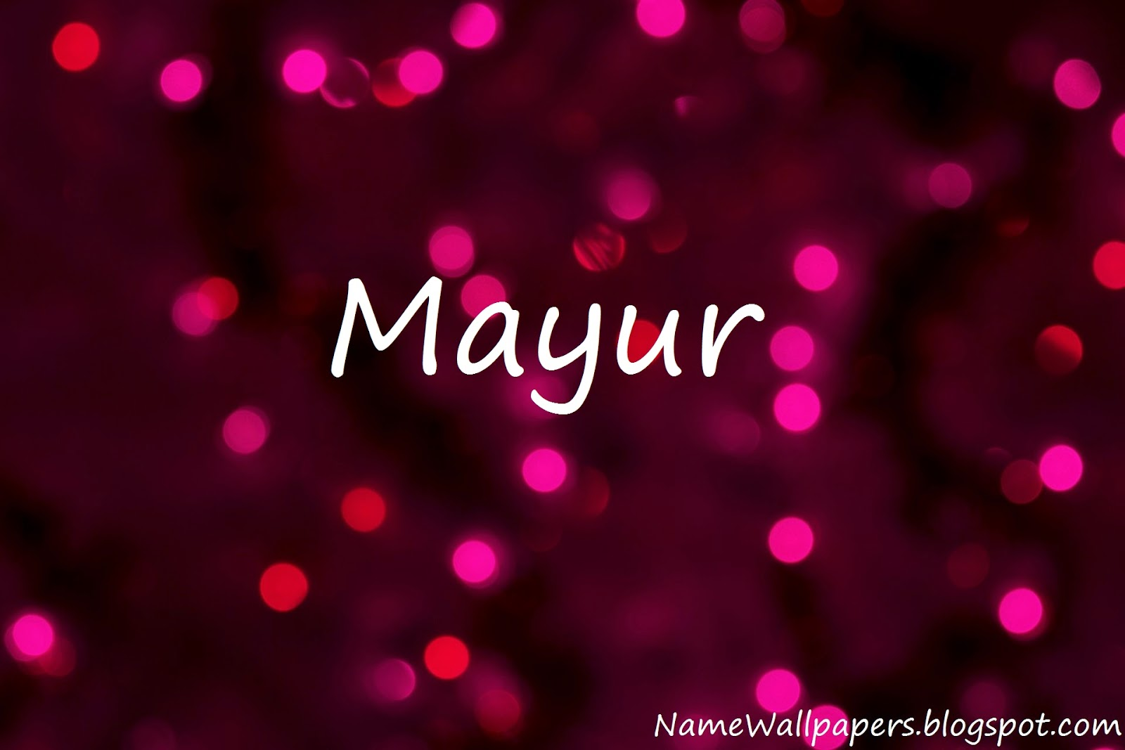 Name Wallpaper Mayur Name Wallpapers Mayur