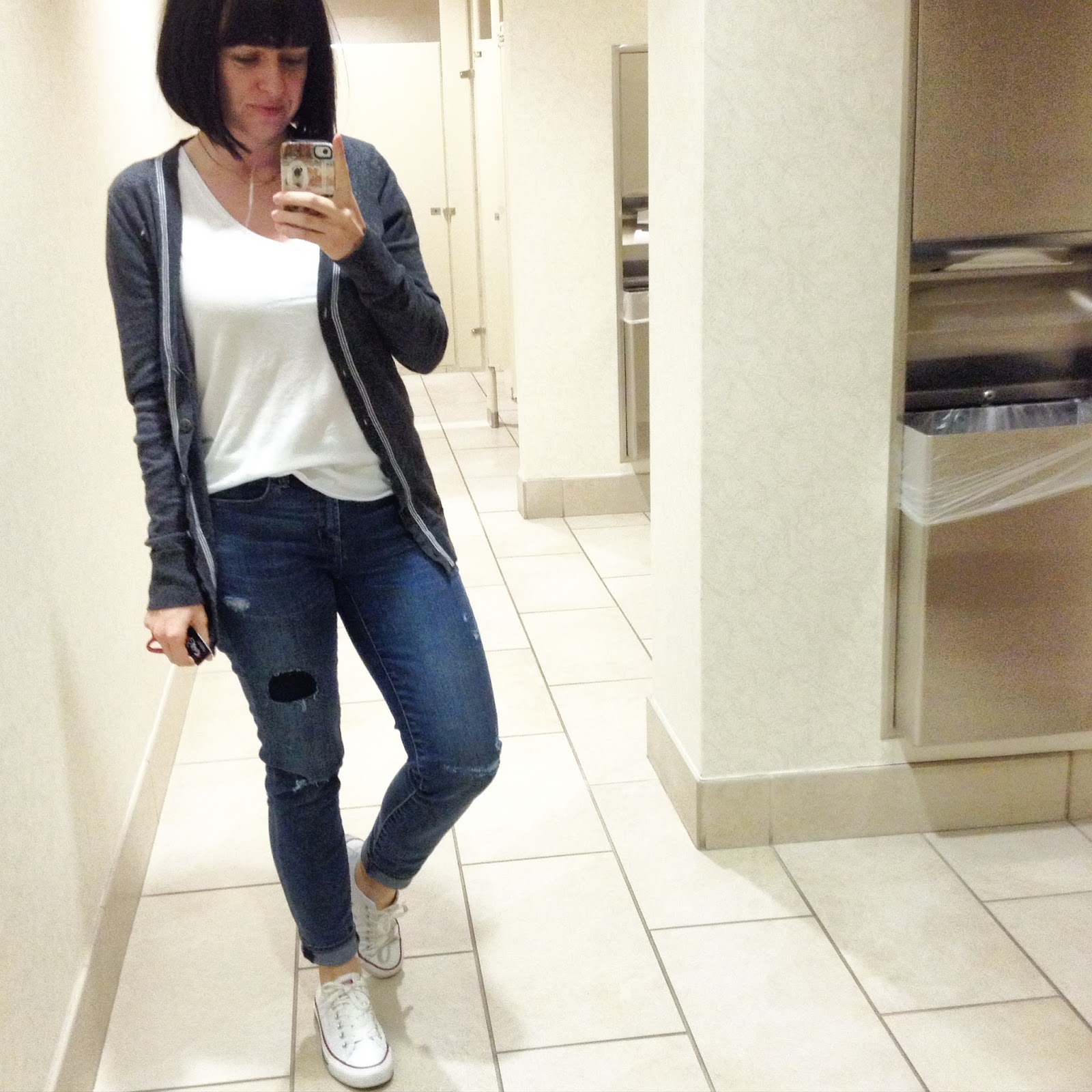 The Daily Distraction Bathroom Photos Outfit Photos Right