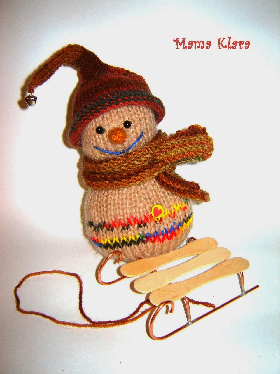 Связали снеговичка