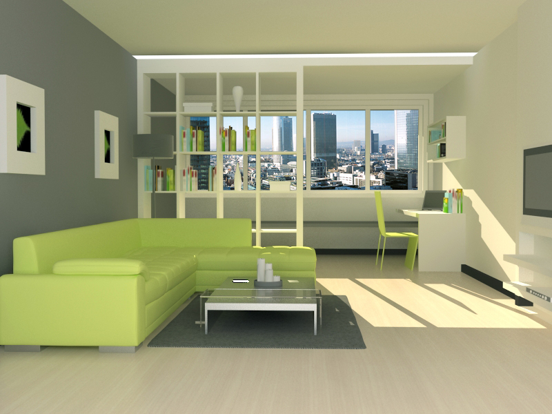 3d drawing room port folio for 3d bedroom drawing