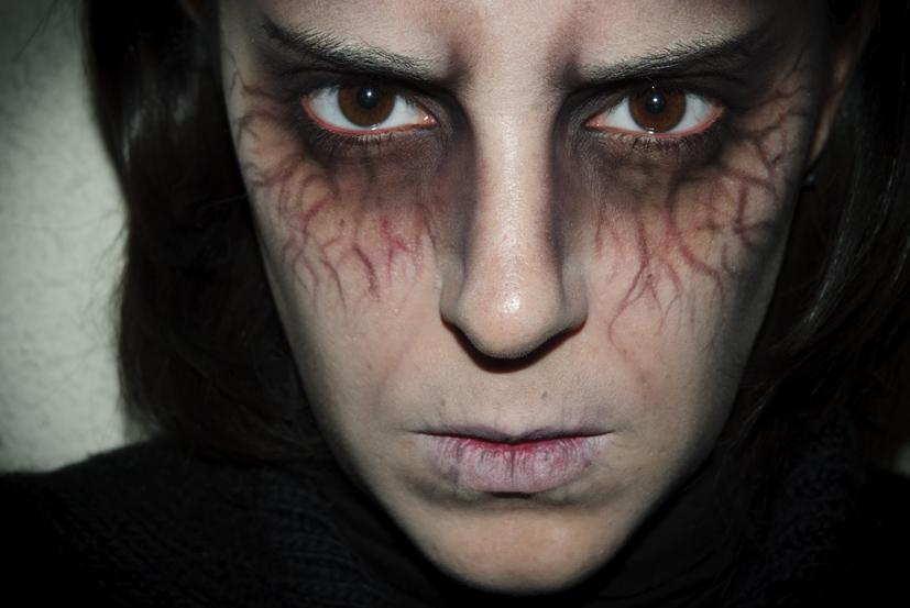 maquillaje halloween 6 diablico verstil halloween make up 6 evil - Maquillaje Demonio
