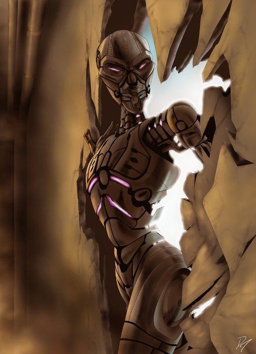 Terminator T-X por EastCoastCanuck