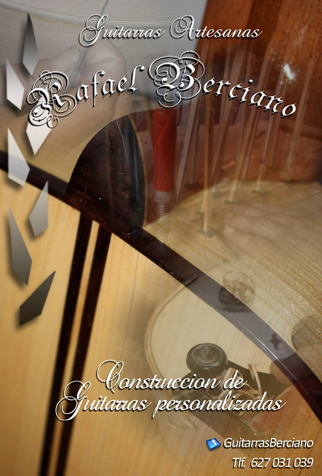 GUITARRAS ARTESANAS RAFAEL BERCIANO