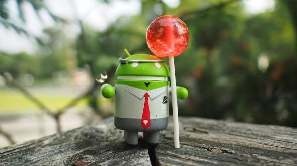 Kode L (Lolipop) Untuk Nama OS Android 4.5 1