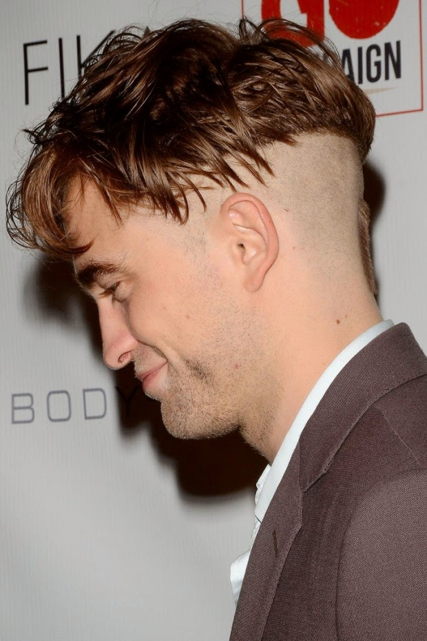 New hairstyle Robert Pattinson