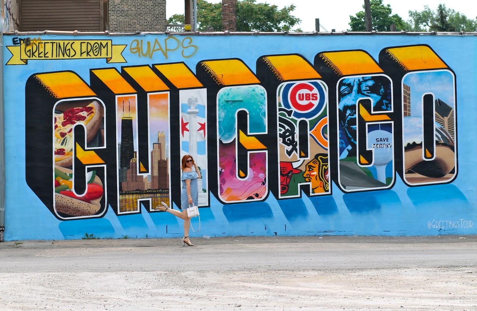 chicago, mural