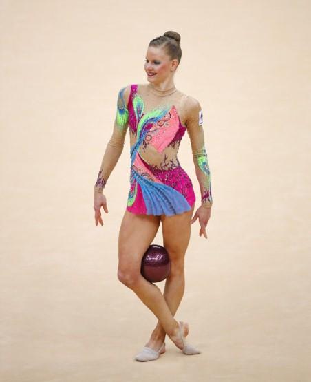 leotards girls Nude gymnastics