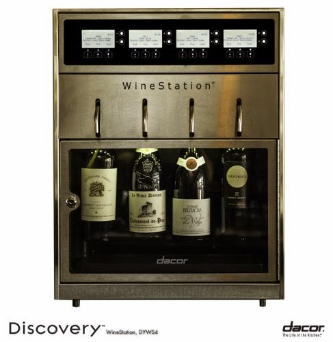Dacor appliances, wine storage