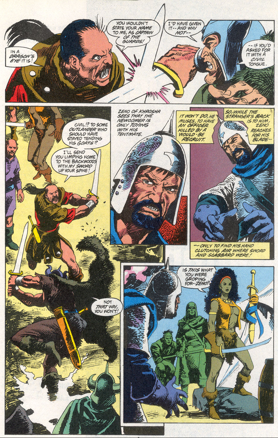 Conan the Barbarian (1970) Issue #266 #278 - English 4