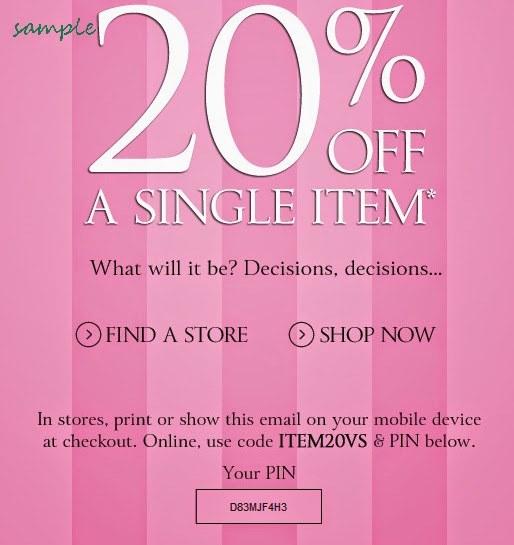 Victoria Secret Coupons Printable 2015