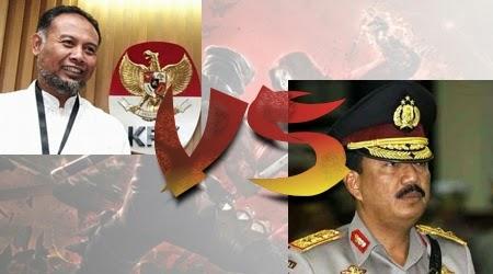 Wakil ketua KPK Bambang Widjojanto ditangkap polisi