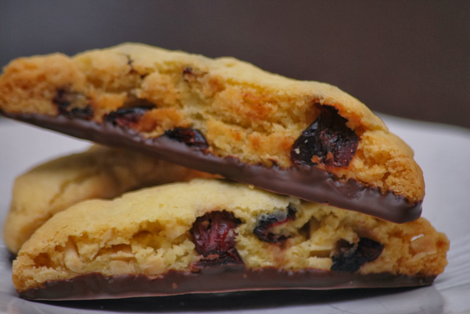 My story in recipes: Cherry Almond Biscotti