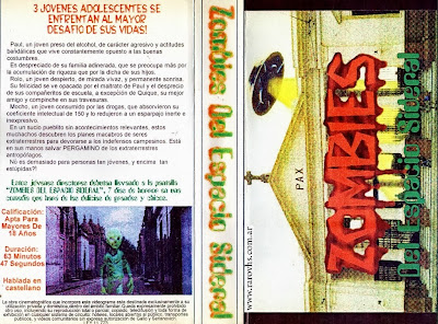 Zombies del Espacio Sideral (1995-1996) Argentina filmada en video