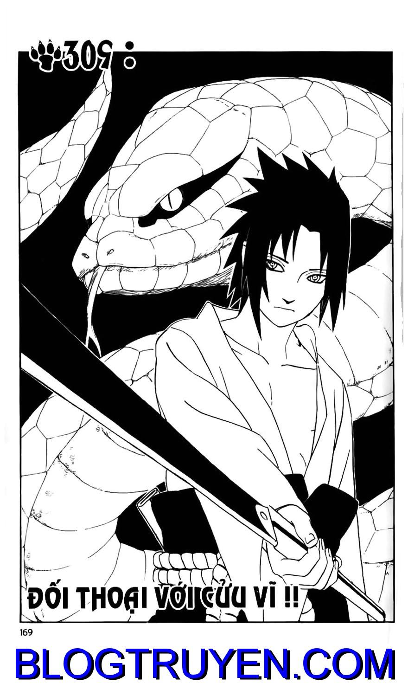 Naruto chap 309 Trang 1 - Mangak.info